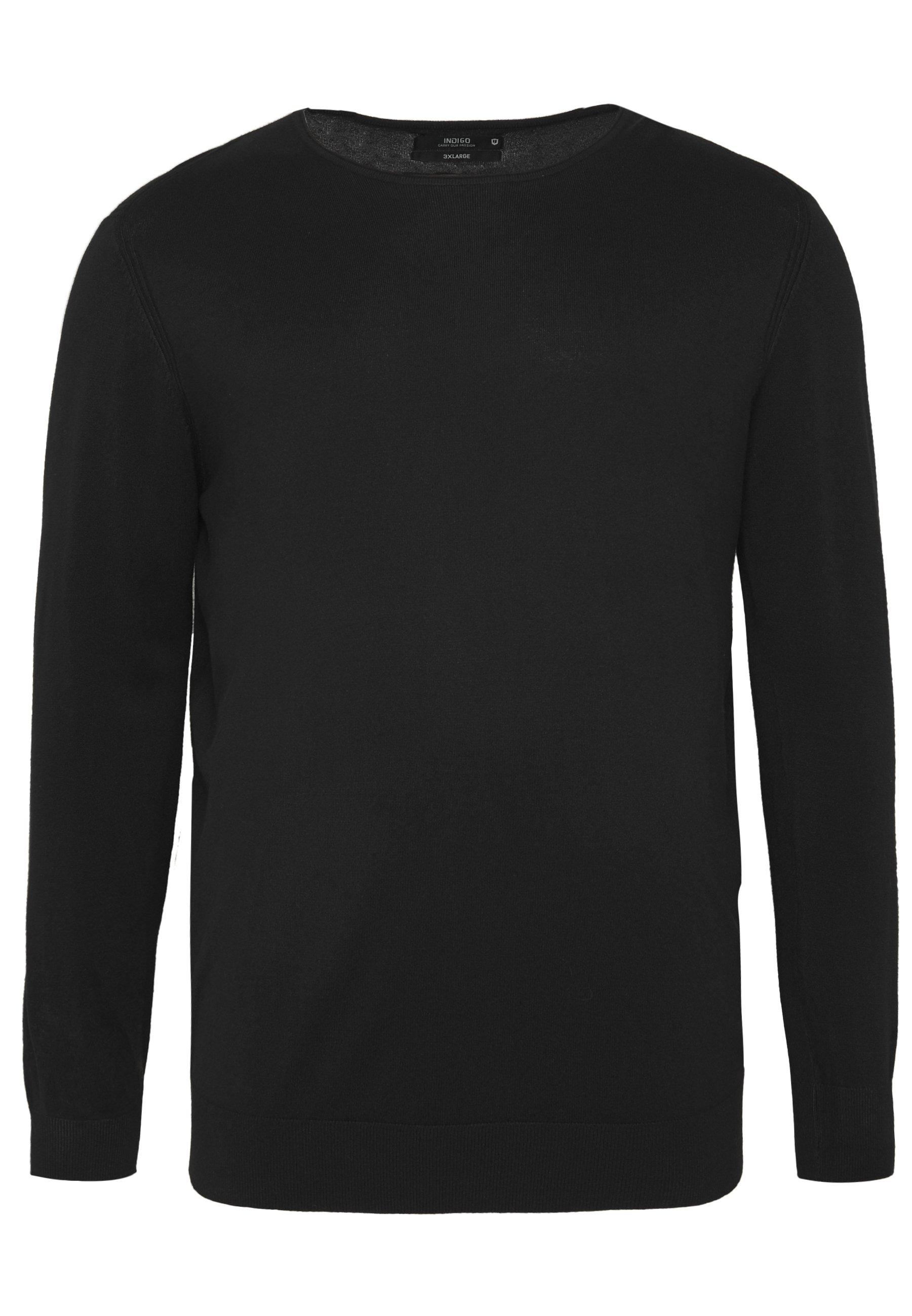 INDICODE JEANS SUR SEINE - Jersey de punto - black
