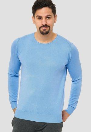 Strikpullover /Striktrøjer - light blue
