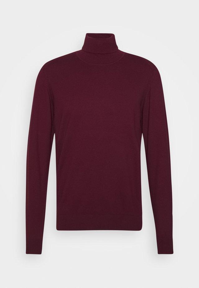 BURNS - Pullover - zinfandel
