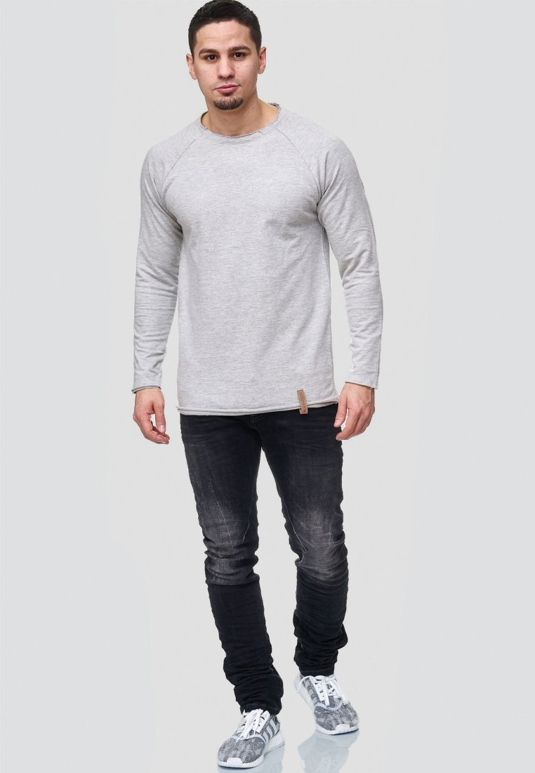 INDICODE JEANS - Sweatshirts - light grey