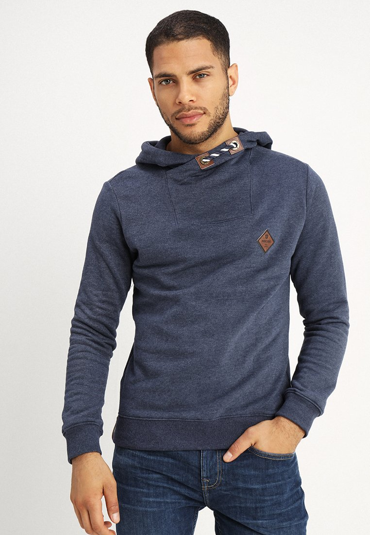 INDICODE JEANS - FRANKLIN - Jersey con capucha - navy mix