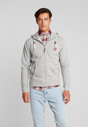 QUINBY - Sweatjacke - grey mix