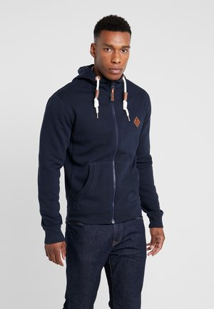QUINBY - veste en sweat zippée - navy