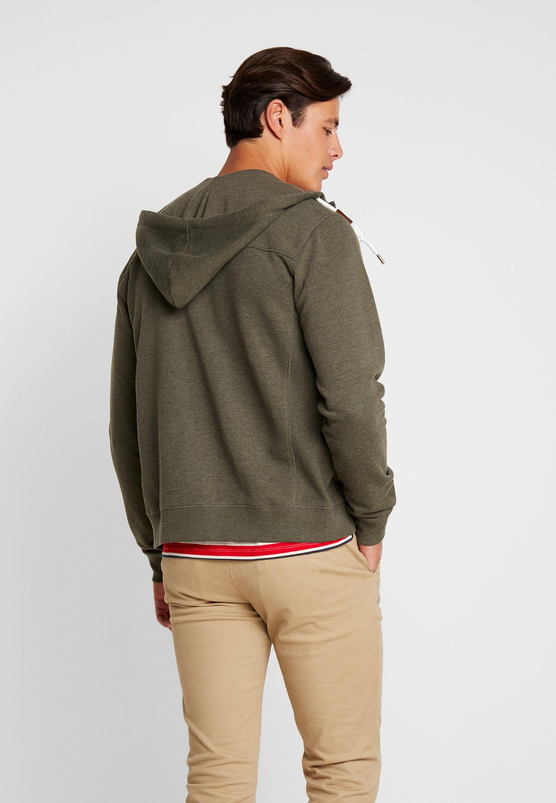 Jeans En Sweat Zippée QuinbyVeste Indicode Army Mix lK1JFcT