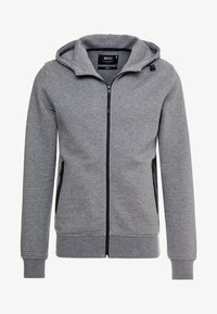 INDICODE JEANS - DOMINION - Mikina na zip - grey mix - 4
