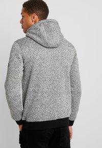 INDICODE JEANS - LAUDERDALE - Zip-up hoodie - grey mix - 2