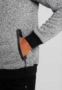 INDICODE JEANS - LAUDERDALE - Zip-up hoodie - grey mix - 3