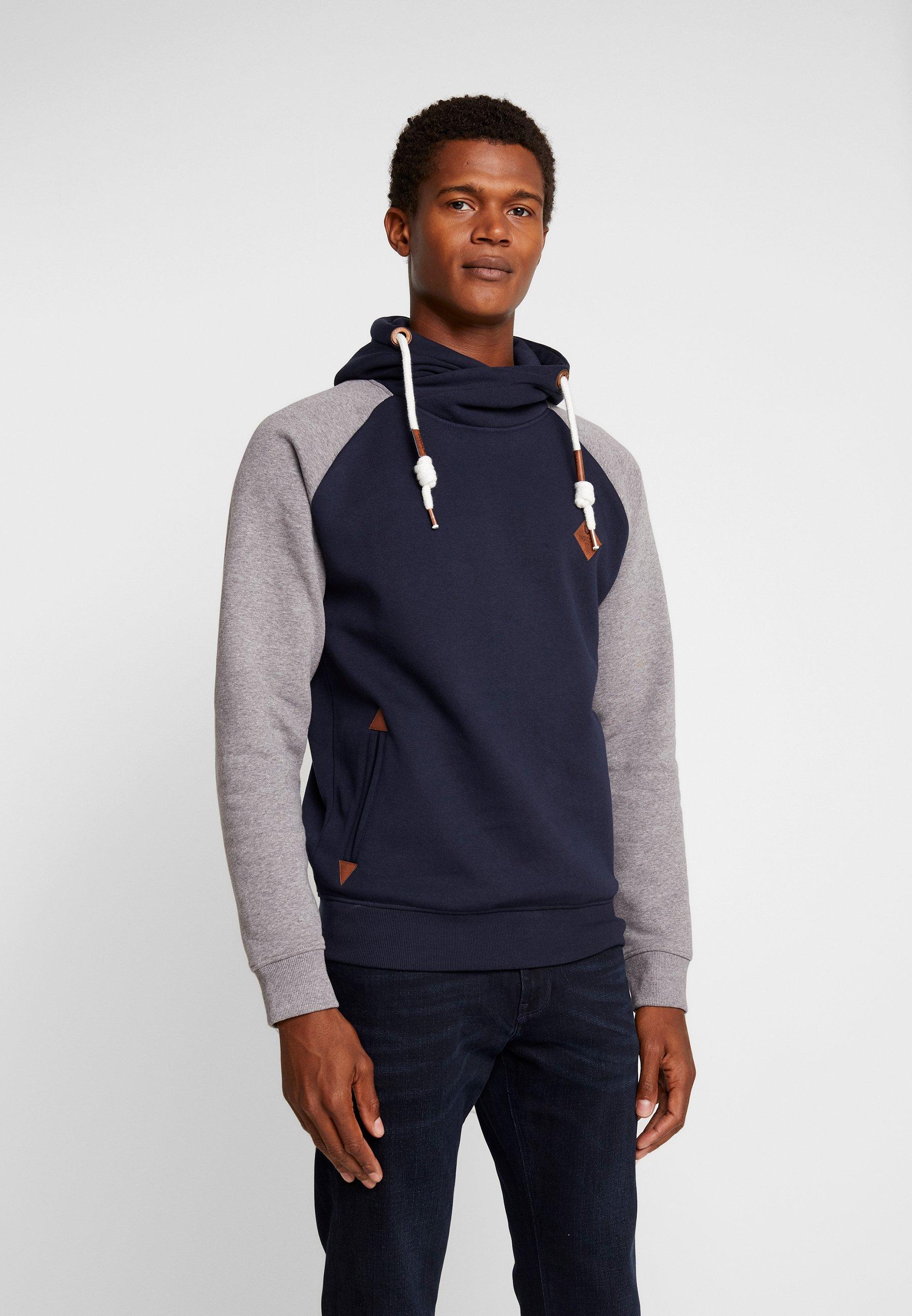 Capuche MarybankSweat Jeans Navy À Indicode kZiOulPTwX