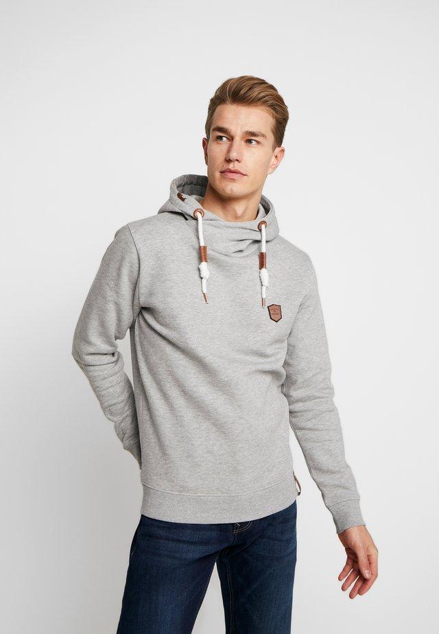 TALET - Jersey con capucha - light grey mix
