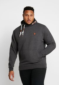 INDICODE JEANS - NEVILLY - Hoodie - charcoal mix - 0