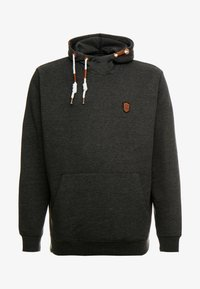 INDICODE JEANS - NEVILLY - Hoodie - charcoal mix - 4