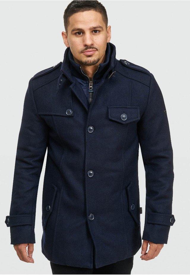 BRANDAN - Short coat - dark blue