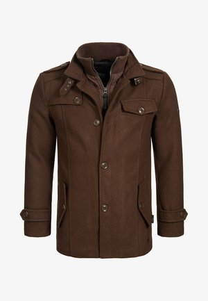 BRANDAN - Short coat - brown