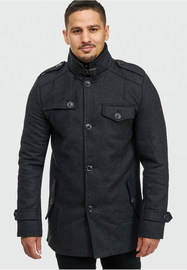 BRANDAN - Short coat - anthracite