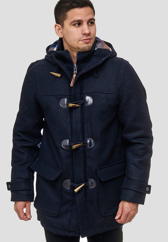 ERVIN - Short coat - navy
