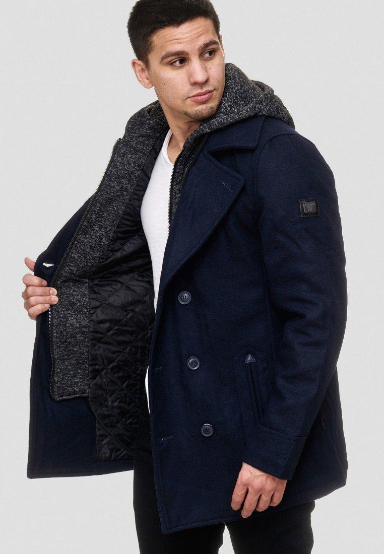 INDICODE JEANS - Wollmantel/klassischer Mantel - dark blue