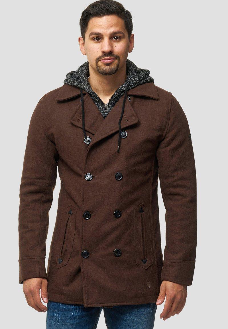 INDICODE JEANS - Abrigo corto - brown
