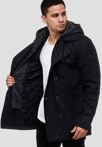 INDICODE JEANS - Halflange jas - black - 0
