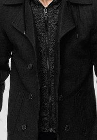 INDICODE JEANS - Halflange jas - black - 4