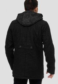 INDICODE JEANS - Halflange jas - black - 2