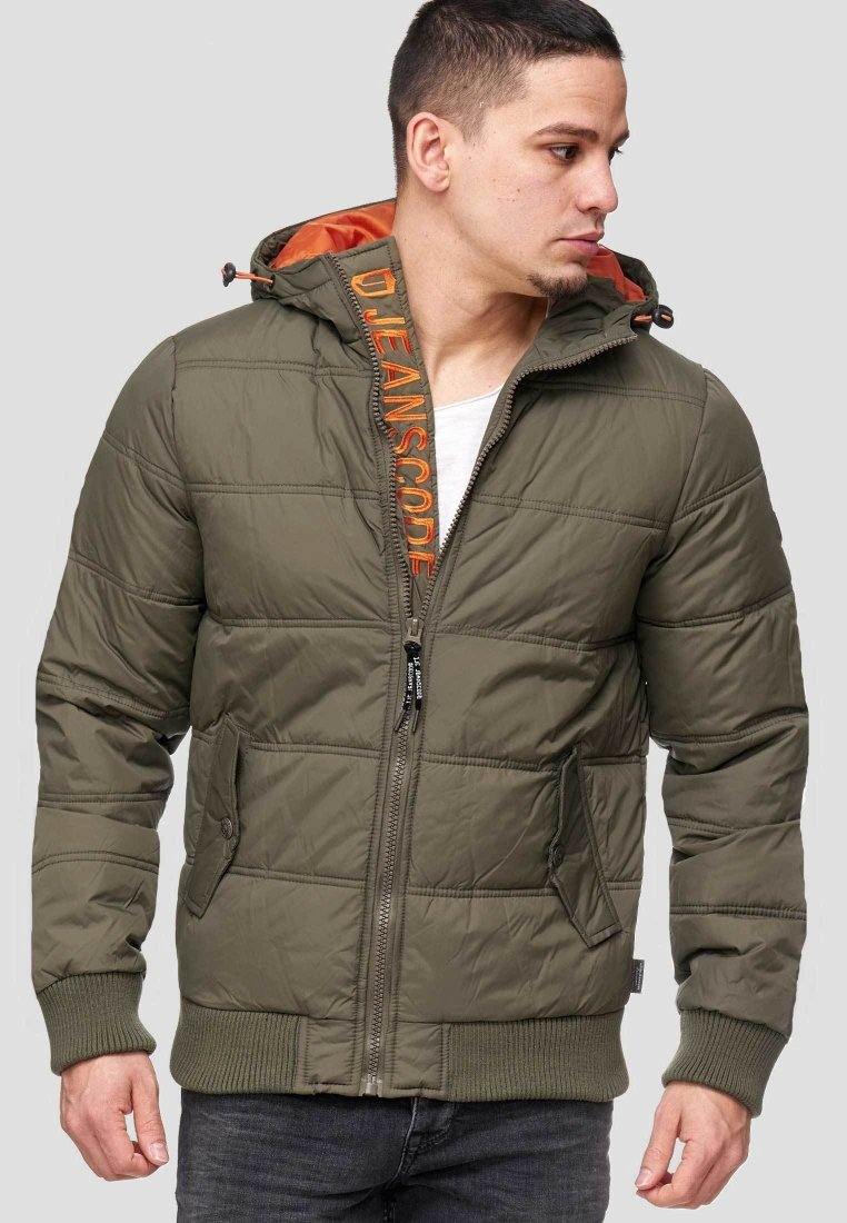 INDICODE JEANS - ADRIAN - Winter jacket - Army