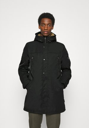 WOODMAN - Parka - black