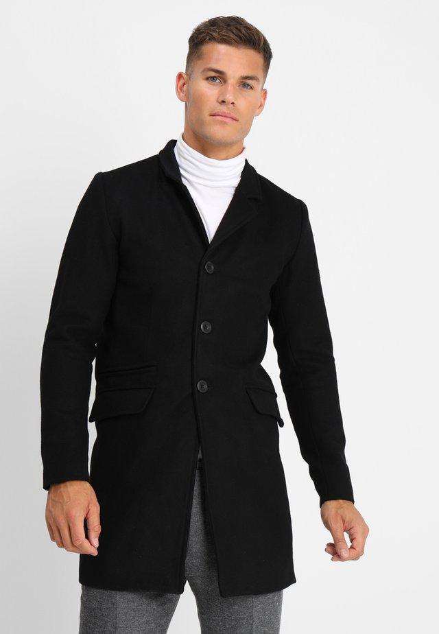 MATHIEU SOLID - Classic coat - black
