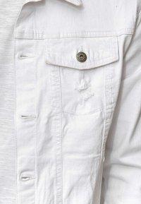 INDICODE JEANS - BRYNE - Denim jacket - off-white - 4