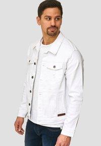 INDICODE JEANS - BRYNE - Denim jacket - off-white - 3