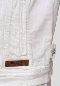 INDICODE JEANS - BRYNE - Denim jacket - off-white - 5