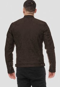 INDICODE JEANS - MANUEL - Leren jas - dark brown - 2