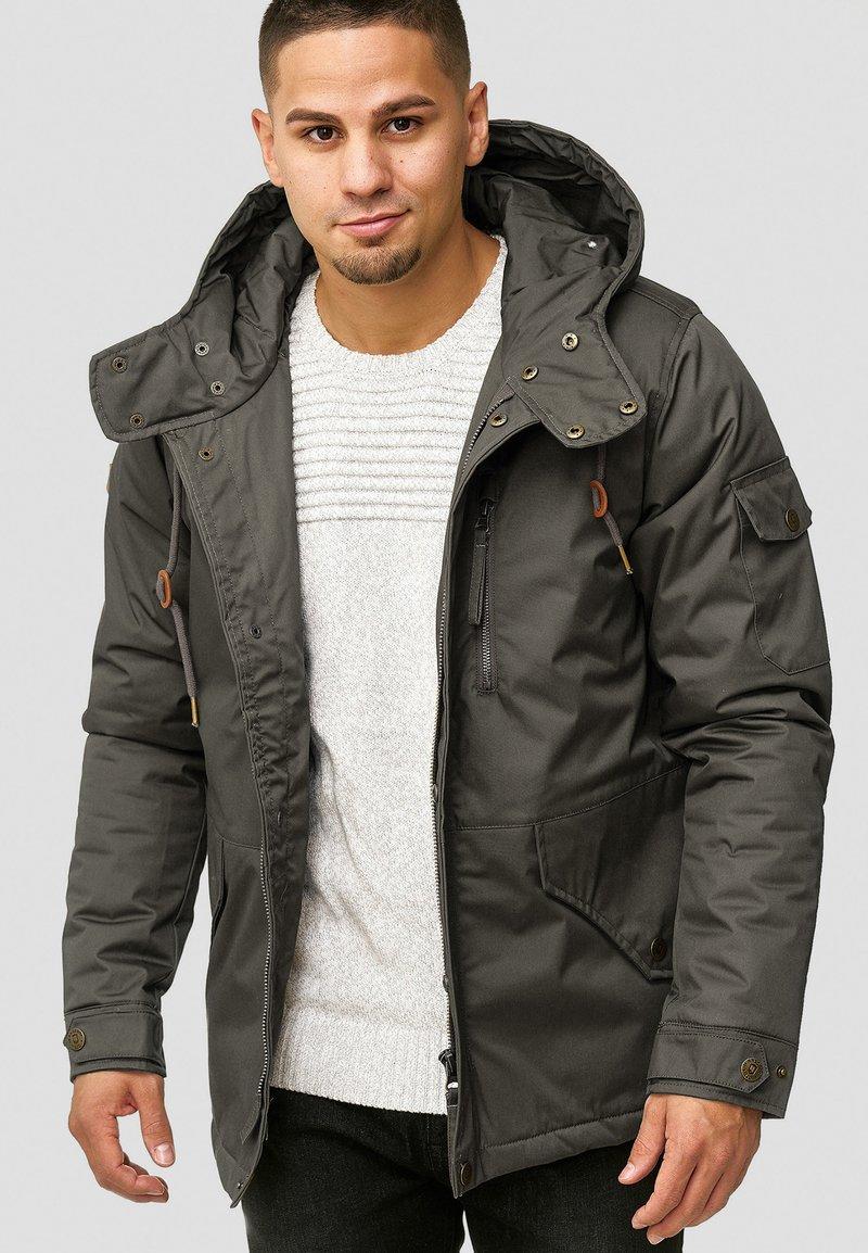 INDICODE JEANS - ELMHURTS - Light jacket - dark grey