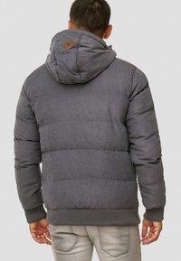INDICODE JEANS - Veste d'hiver - dark grey - 2