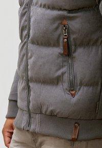 INDICODE JEANS - Veste d'hiver - dark grey - 3