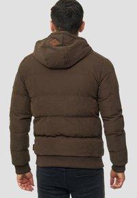 INDICODE JEANS - Veste d'hiver - mottled brown - 2