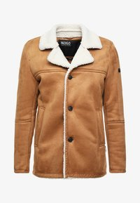 INDICODE JEANS - CROCKFORD - Light jacket - camel - 5