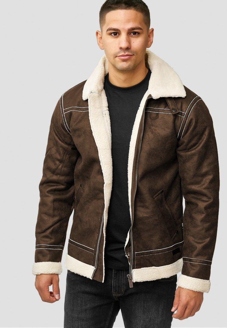 INDICODE JEANS - Light jacket - demitasse