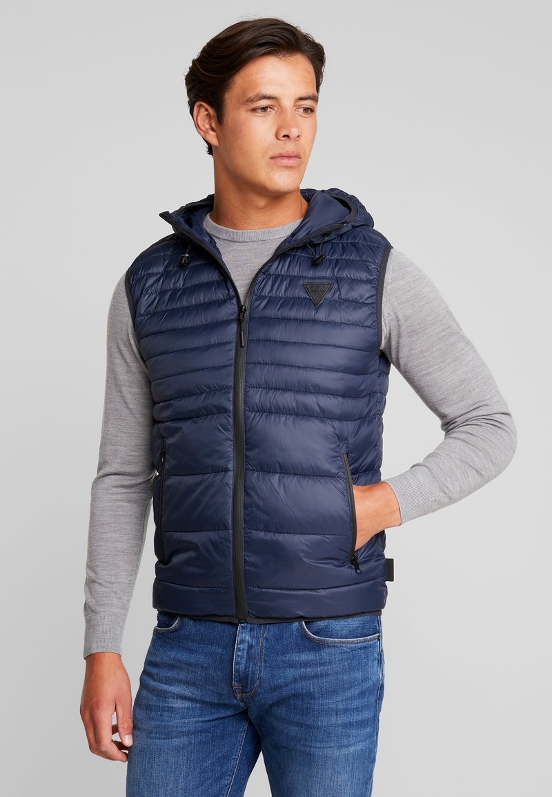 INDICODE JEANS - CONQUEST - Waistcoat - navy