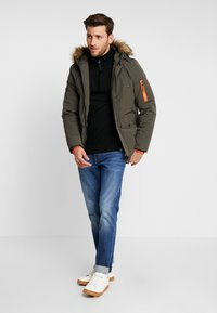 INDICODE JEANS - LEAKE - Parka - army - 1