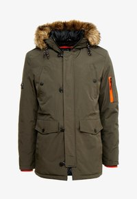 INDICODE JEANS - LEAKE - Parka - army - 4
