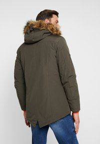 INDICODE JEANS - LEAKE - Parka - army - 3