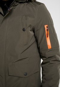 INDICODE JEANS - LEAKE - Parka - army - 5