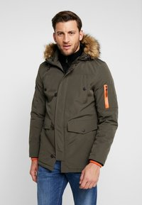 INDICODE JEANS - LEAKE - Parka - army - 0