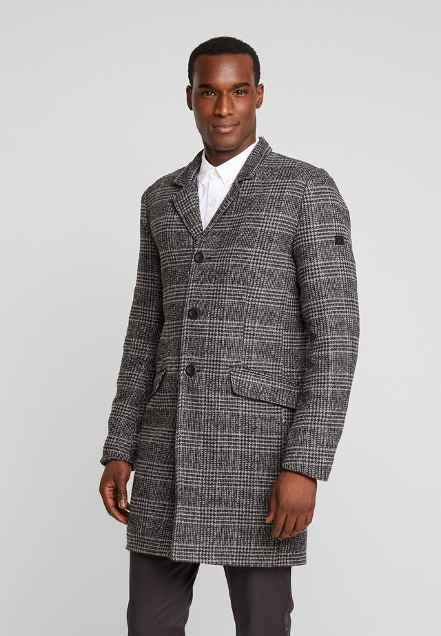 KINVER - Classic coat - charcoal mix