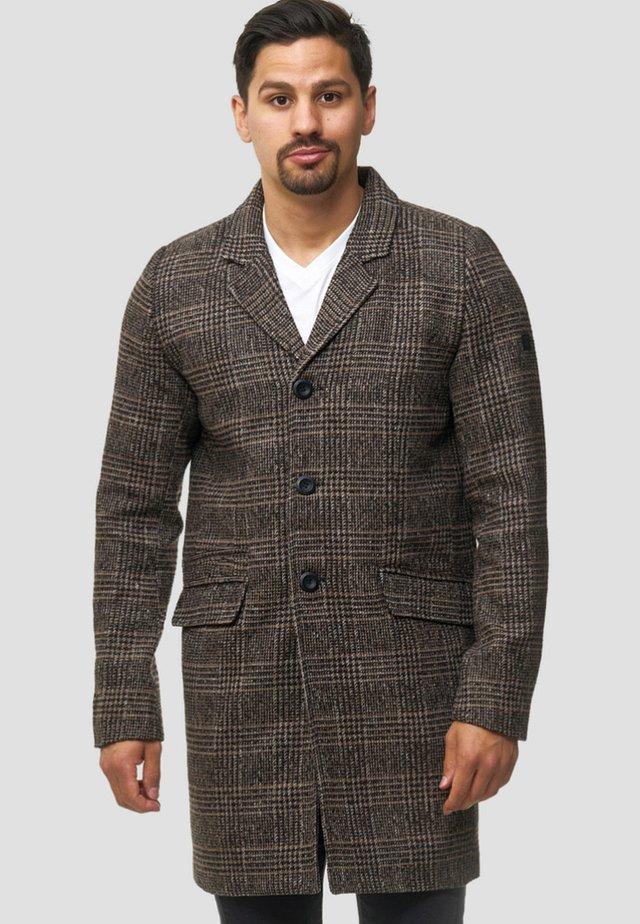 Wollmantel/klassischer Mantel - rubber