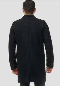 INDICODE JEANS - Classic coat - black - 2
