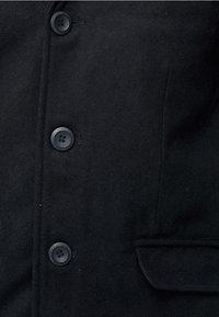 INDICODE JEANS - Classic coat - black - 4