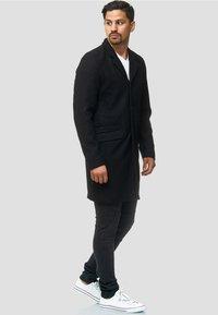 INDICODE JEANS - Classic coat - black - 1