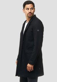 INDICODE JEANS - Classic coat - black - 3