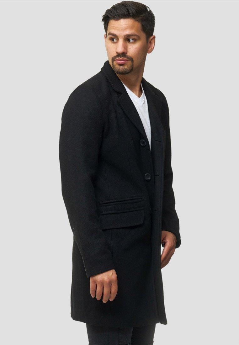 INDICODE JEANS - Classic coat - black